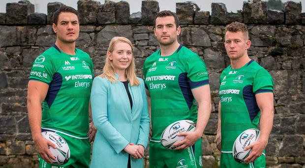 """O'Connor: """"We are delighted to extend our partnership with Connacht Rugby and we look forward to being a part of their journey for the future."""" Photo credit: ©INPHO/Ryan Byrne"""