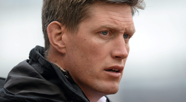 Racing 92 coach Ronan O'Gara Photo: Sportsfile