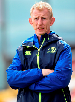 Leinster head coach Leo Cullen Photo by Cody Glenn/Sportsfile