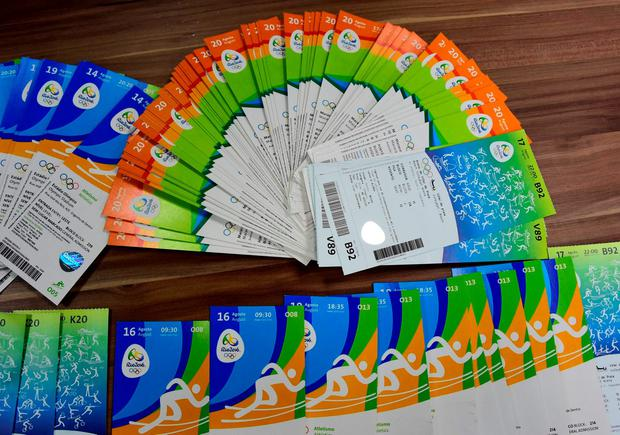 The Olympics ticket scandal has focused attention on the issue of ticket-touting Photo: AFP / Getty Images