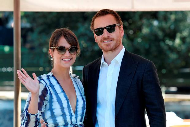 Alicia Vikander and Michael Fassbender Look So in Love at the Venice Film Festival