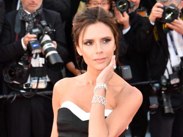 Victoria Beckham attends the screening of