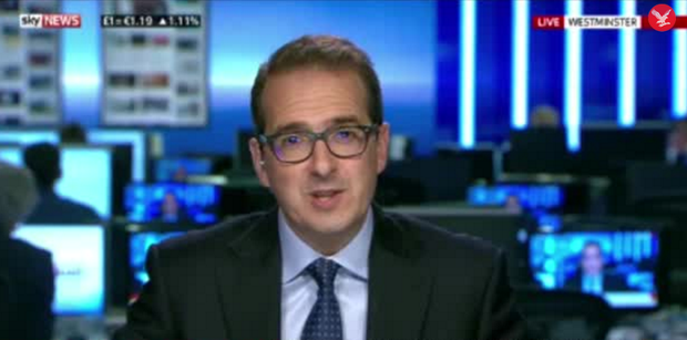 Owen Smith on Sky News. Photo: Sky News