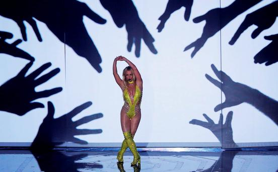 One more time: Britney Spears returned to the MTV Video Music Awards this week for the first time since her wretched performance in 2007