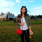 2 Sept 2016: Louise Duffy enjoying Electric Picnic. Electric Picnic Festival - Friday. Stradbally, Co. Laois. Picture: Caroline Quinn