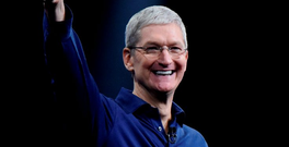 Apple's CEO Tim Cook Photo: David Paul Morris/Bloomberg