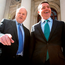 Finance Minister Michael Noonan and Pascal Donohoe, the Minister for Public Expenditure Photo: Tom Burke