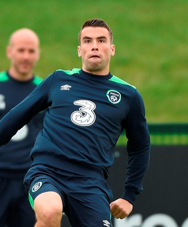 Coleman training this week. Photo: Sportsfile