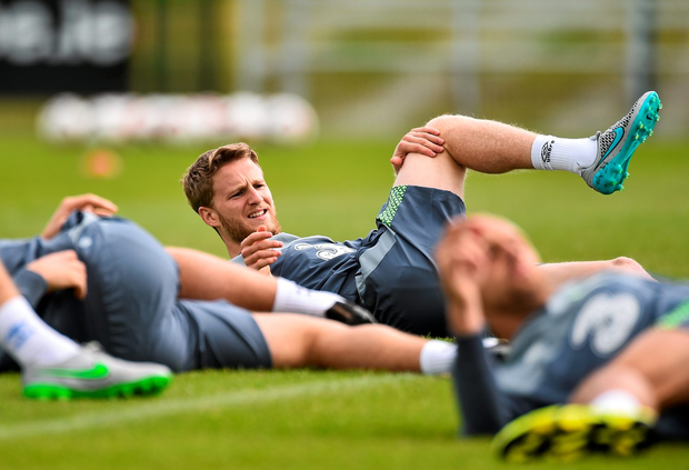 'I want to be involved in everything I can and add to my four caps,' says Ireland midfielder Eunan O'Kane. Photo: Sportsfile