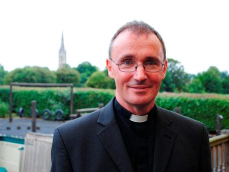 The Bishop of Grantham is in a long term relationship