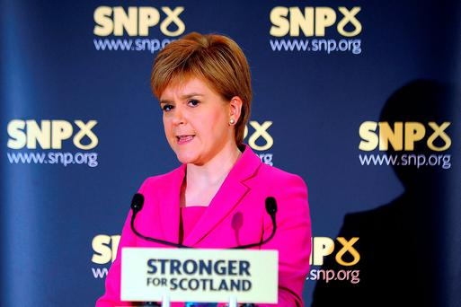 Scottish First Minister Nicola Sturgeon launched a new survey on independence, saying the Brexit vote had changed the conditions that existed when Scotland voted against secession in 2014. Photo: AFP/Getty Images