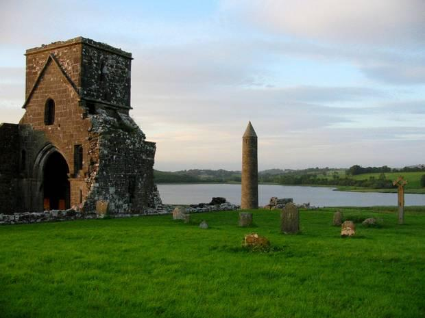 Devenish Island in Co Fermanagh