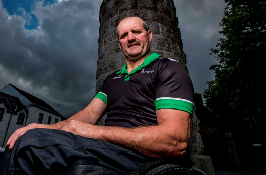 Declan Slevin instantly took to Para cycling when he tried it after his accident, revelling in the freedom it offered him. Photo: Morgan Treacy