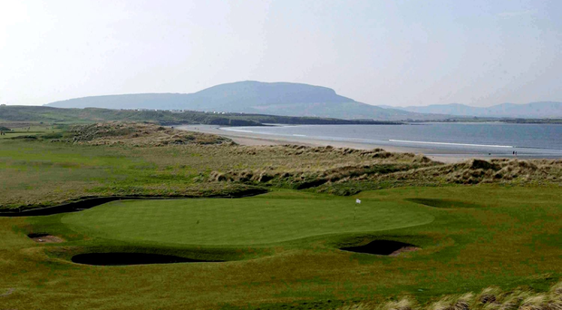 He sensed that Dobereiner and the prize-winners would love Rosses Point in Co Sligo. Photo: Sportsfile