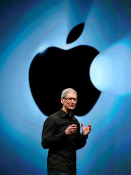 Apple: 'When I hear Tim Cook talk in his soft, creepy tones about this affront to his 'values', I have to laugh' Photo: Justin Sullivan/Getty Images