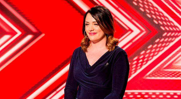 Janet Grogan during the audition stage for the ITV1 talent show, The X Factor