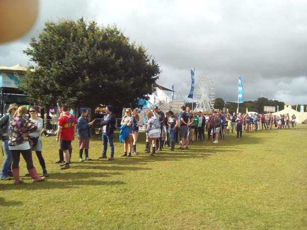 Image result for electric picnic atm line