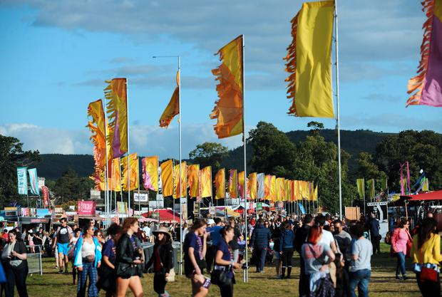 General view of Electric Picnic. Electric Picnic Festival - Friday. Stradbally, Co. Laois. Picture: Caroline Quinn