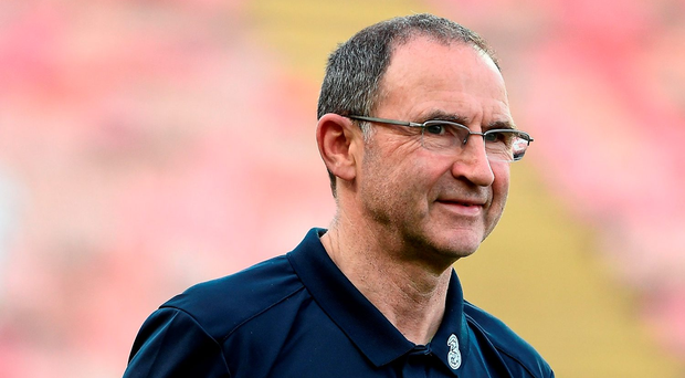 """I don't think it's possible to start to play for a draw,"" O'Neill said, ""But I think in this competition every point is going to be valuable."". Photo by David Maher/Sportsfile"