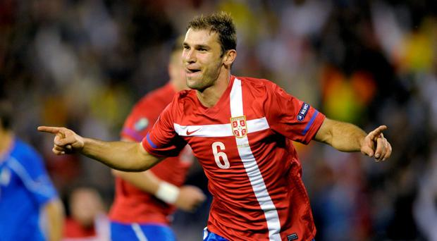 'The important thing is to start well,' emphasised Branislav Ivanovic ahead of Serbia's game against Ireland tonight. Photo: Getty