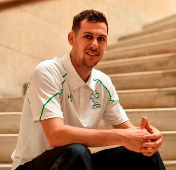 Michael McKillop, who won two golds in London, will have one focus in Rio. Photo by Paul Mohan/Sportsfile