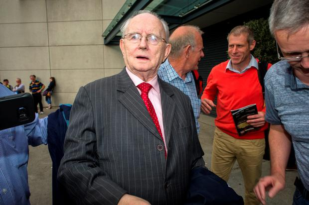 Veteran sports commentator Jimmy McGee. Photo: Doug O'Connor