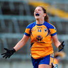 'Niamh O'Dea was the star of the show, scoring the winning point to bring her tally to 2-5.' Photo by Diarmuid Greene/Sportsfile