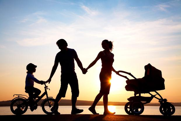 'Findings also indicate that parents are not spending enough time with their children and this is one of the biggest barriers to young people leading a healthy lifestyle.' Stock image: Depositphotos