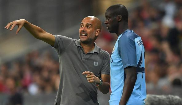 Yaya Toure is out of favour at Manchester City