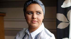 Courtney Wedge from Bangor, who was diagnosed with breast cancer at the age of just 23