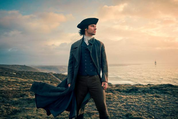 Aidan Turner as Ross Poldark. Photo: Robert Viglasky/BBC/PA Wire
