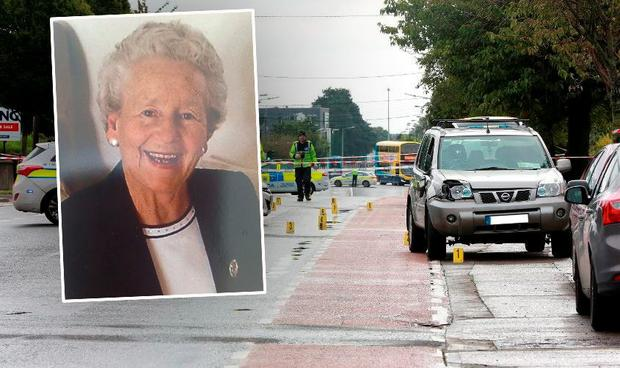 Maureen Creaner (inset) died from her injuries sustained on Sunday morning