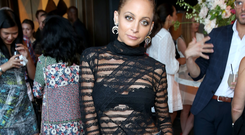 Nicole Richie with make-up (Photo by Jonathan Leibson/Getty Images for Amazon)