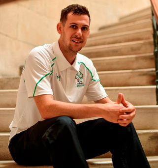 Irish Paralympic Team member Michael McKillop. Photo: Paul Mohan/Sportsfile