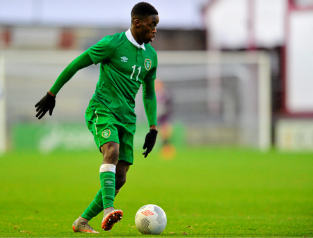 "Shodipo: ""Martin O'Neill was at our game on Friday and I was glad at the opportunity of showing what I can do."" Picture credit: Matt Browne / SPORTSFILE"