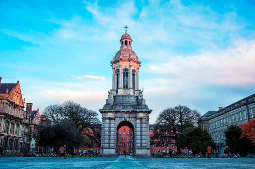 Trinity College Dublin, 98th 2016