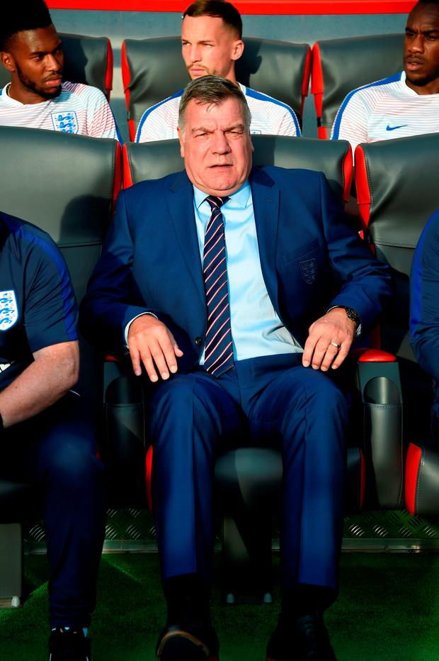Sam Allardyce. Pic: Joe Klamar/Getty Images