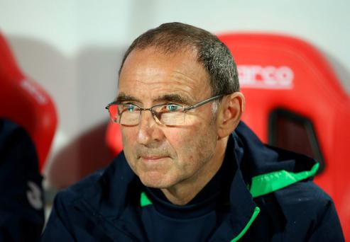 Republic of Ireland manager Martin O'Neill Reuters / Marko Djurica
