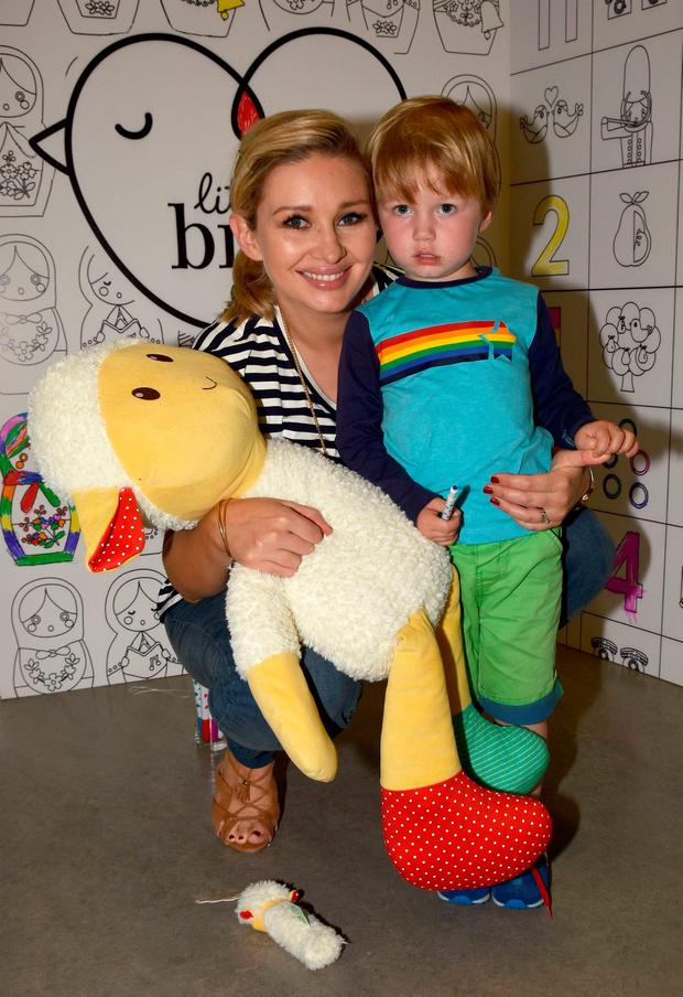 Anna Daly, with son Euan, at the launch of Mothercare Autumn Winter 2016 at The Science Gallery in Trinity College