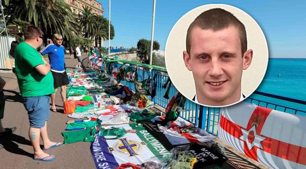 Darren Rodgers died at Euro 2016