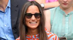 Pippa Middleton attends day eight of the Wimbledon Tennis Championships at Wimbledon on July 04, 2016 in London, England. (Photo by Karwai Tang/WireImage)