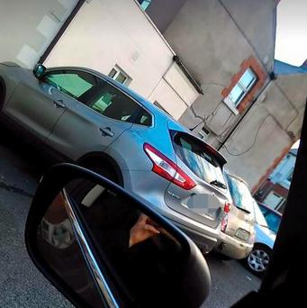 The car was discovered on a Dublin 8 street - over 86km from the family's home