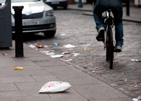 Yesterday's IBAL survey found that over 90pc of Ireland's towns are clean, but cited significant problems with litter and dumping in city suburb areas.