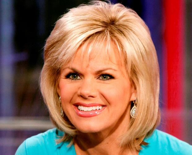 TV personality Gretchen Carlson appears on the set of