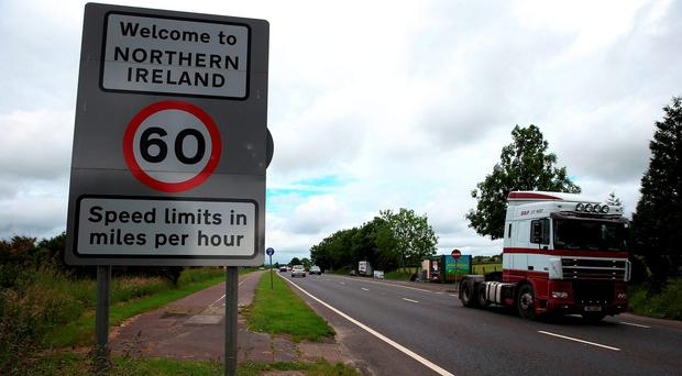 An open border between Northern Ireland and the Republic post Brexit wouldn't pose a risk to Britain in terms of immigration, Ireland's ambassador to London has insisted. Photo: Brian Lawless/PA Wire