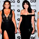 (L to R) Ashley Graham, Daisy Lowe and Bella Hadid at the GQ Men of the Year Awards