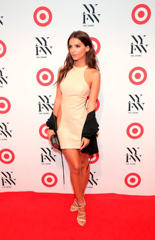 Actress Emily Ratajkowski attends Target + IMG New York Fashion Week Kick-Off Event at The Park at Moynihan Station on Tuesday, September 6, 2016 in New York City. (Photo by Neilson Barnard/Getty Images for Target)