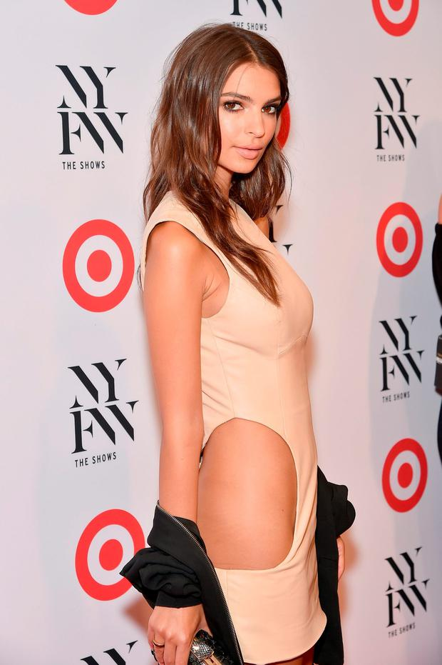Aoife said there's a pressure on girls to wear next-to-nothing on nights out. (Pictured: Emily Ratajkowski. Photo by Mike Coppola/Getty Images)