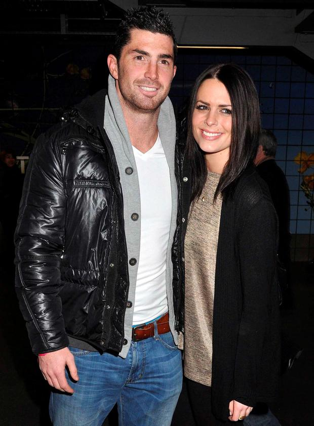 Rob Kearney and Susie Amy in 2010