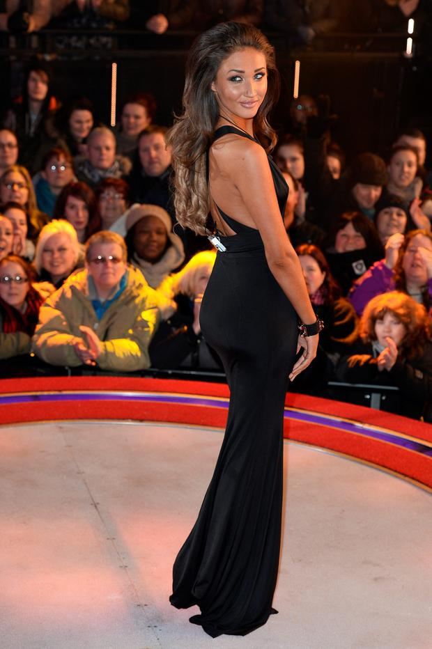 Megan McKenna is the fourth celebrity evicted from the Big Brother house at Elstree Studios on January 22, 2016 in Borehamwood, England. (Photo by Jeff Spicer/Getty Images)